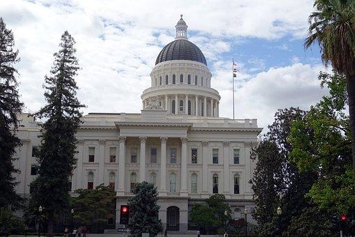 Capitol, Building, California, Sacramento, Governor
