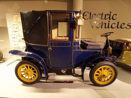 Hedag Brougham Electric, 1905, Car, Automobile, Vehicle