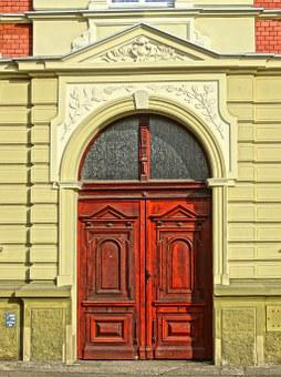 Bydgoszcz, Portal, Door, Entrance, Historic, Building