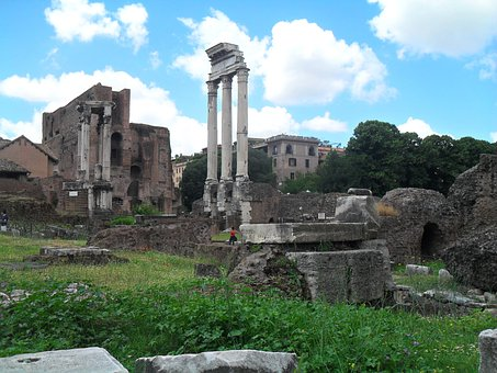 Roman Forum, Rome, Italy, Roman Theatre