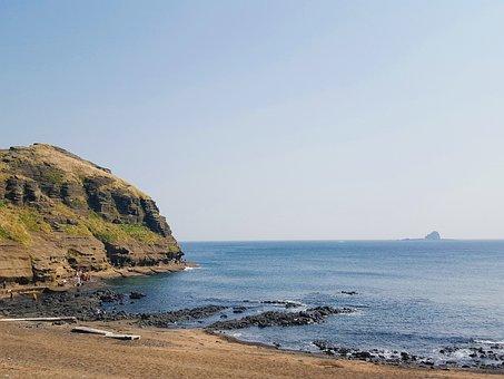 Jeju Island, A Bunch For Coastal, Sea, Nature