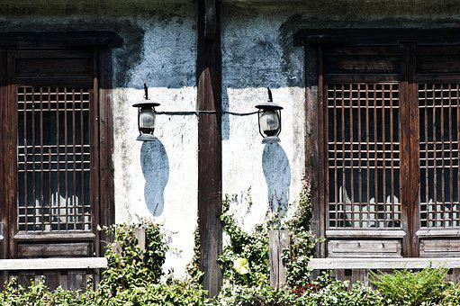 Lamp, Building, Ancient Architecture, China Wind