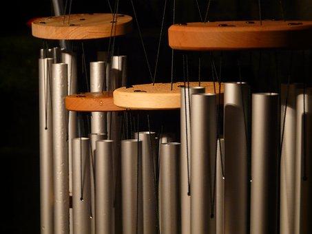 Windspiel, Sound, Music, Metal Cylinder, Tubular Bells