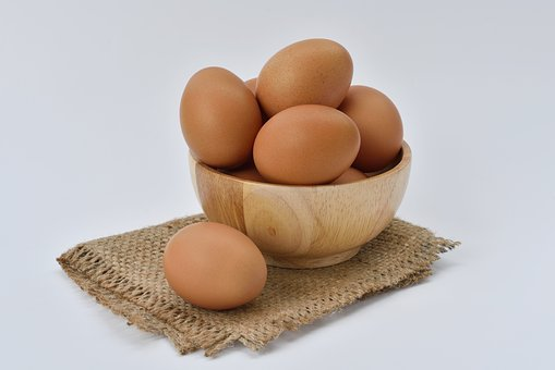 Egg, White, Food, Protein, Eggshell, Brown, Organic