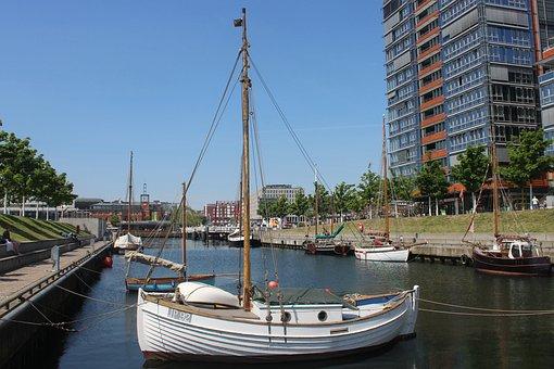 Kiel, Kai City, Kai, Boot, Port, Pier, Anchorage