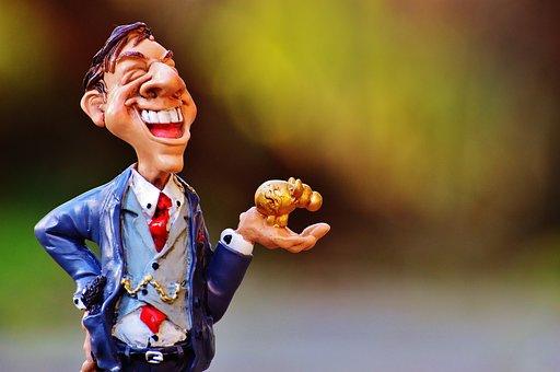 Businessman, Stock Broker, Money, Profit, Finance, Euro