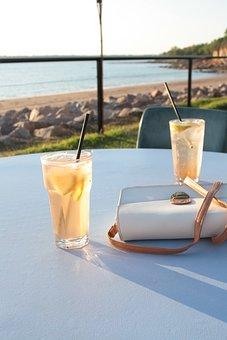 Beverage, Restaurant, Darwin, Ocean, Coast, Beach