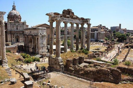 Rome, Italy, Ancient, Forum, Roman, Italian, Old, City