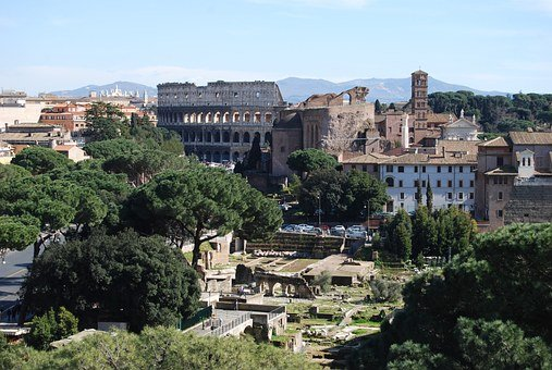 Rome, Forum, Italy, Roman, Ancient, Old, Architecture