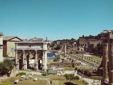Forum Romanum, Old Town, Ruine, Roman, Ruin
