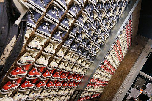 Converse, Chuck's, Sale Shelf, Shoes, Sneakers, Fabric
