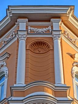 Stary Port, Bydgoszcz, Niche, Facade, Building