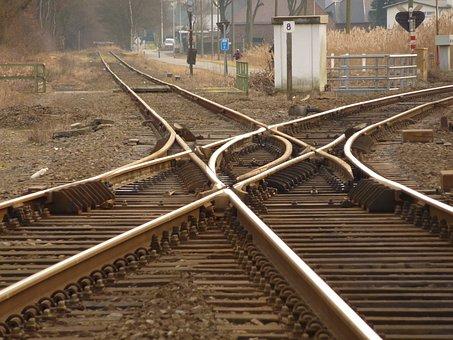 Train, Track, Railway Line, Tracks, Rails, Transport