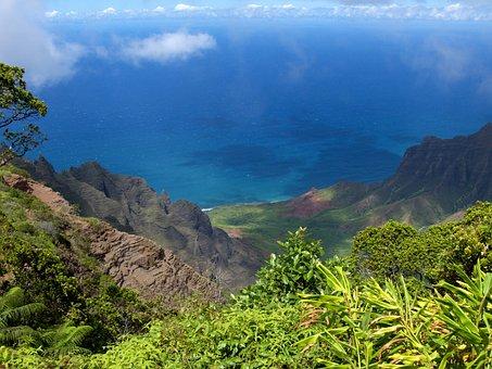 Kauai, Hawaii, Island, Nature, View, Nawiliwili