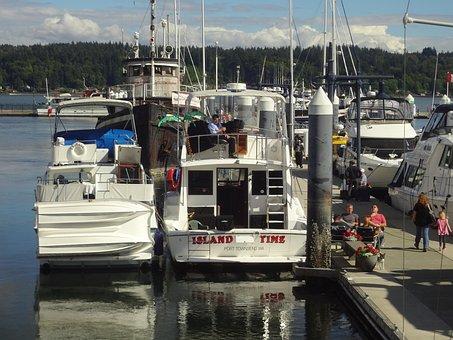 Bremerton Harborside, Washington State, Water Front