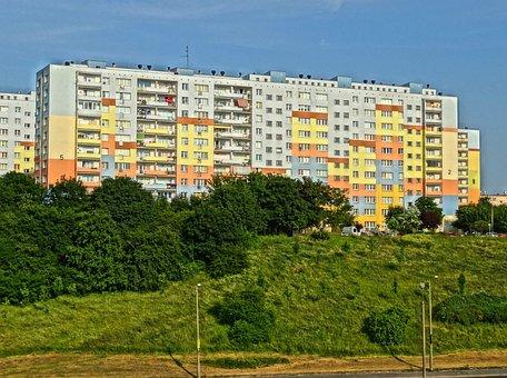 Wyzyny, Bydgoszcz, Building, Apartment Building