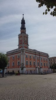 The Town Hall, City, The Market, Architecture, Monument