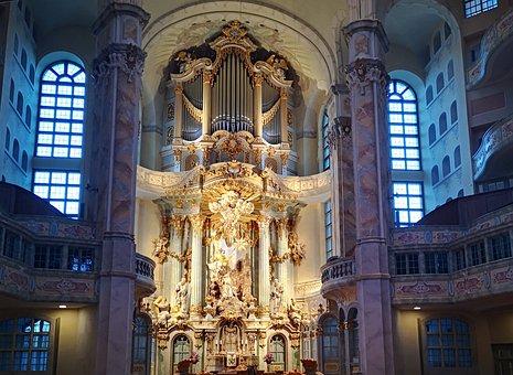 Maundy Thursday, Church, Organ, Altar, Religion