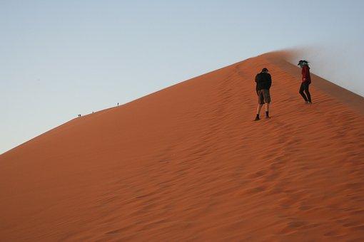 Wind, Dune, Sand, Desert, Nature, Landscape, Dunes
