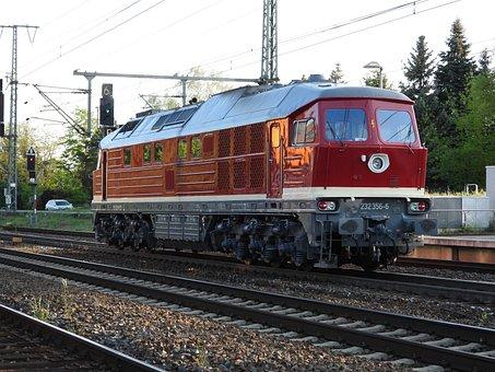 Ludmilla, Br232, German Reichsbahn, Diesel Locomotive