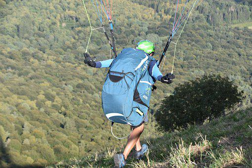 Fifth Wheel, Paragliding, Paraglider, Entertainment