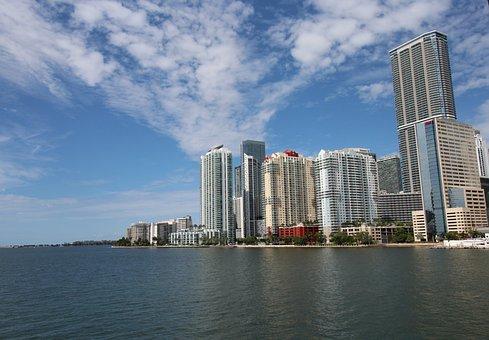 Miami, Brickell Key, Florida, Mandarin Hotel
