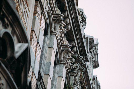 Architecture, Stone, Building, Historically, Old