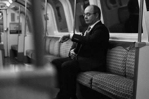 Passenger, Train, Subway, Tube, Impatient, Late