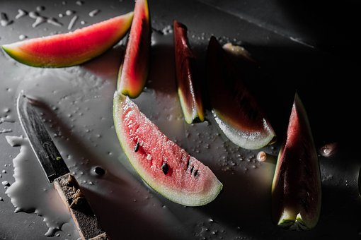 Watermelon, Juicy, Food, Fruit, Market