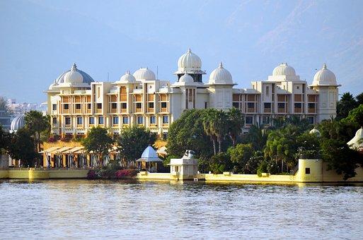 Udaipur, Lake, Rajasthan, Water, Architecture, Travel