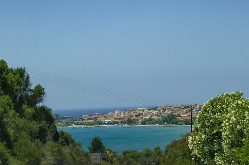 Greece, Travel, Methoni, Peloponnese, Landscape, Summer