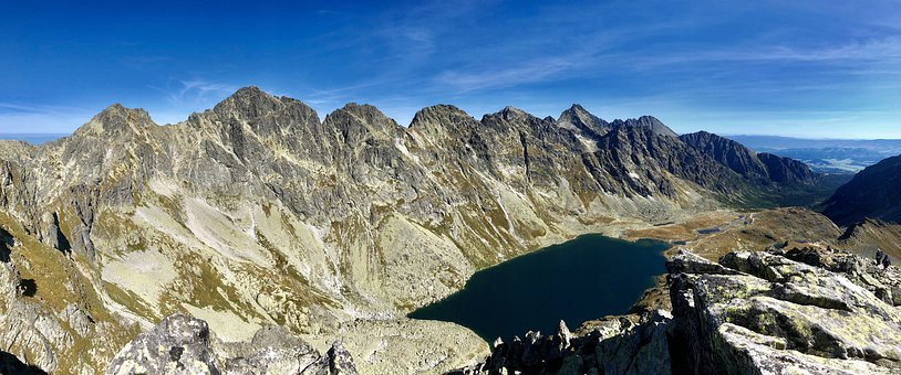 The High Tatras, Mountains, Panorama, Landscape, Nature