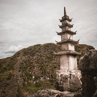 Viet Nam, Travel, Top, Nice, Trip, Mountain, Sky, Rock
