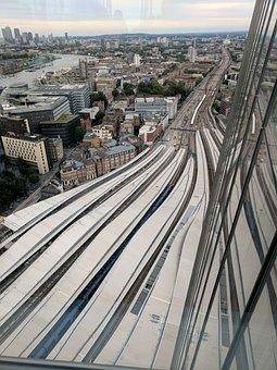 Railway, The Shard, London, Station