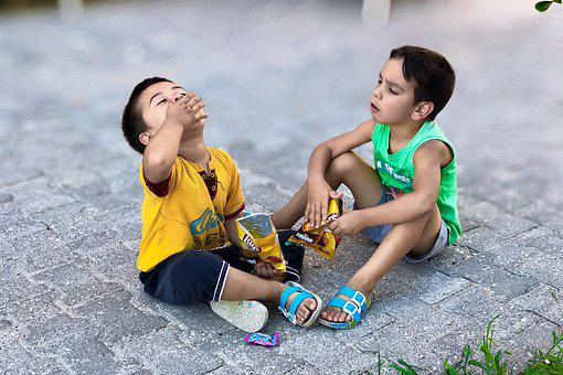 Child, Happy, School, People, Friendship, Game, Smiling