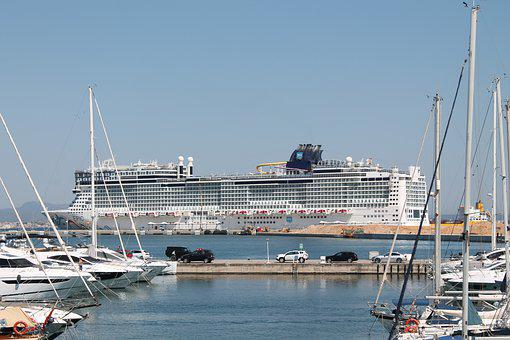 Cruise Ship, Mallorca, Cruise, Port, Ship, Palma