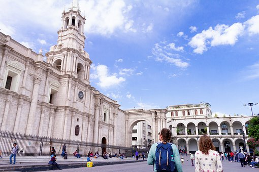 Cathedral Of Arequipa, Arequipa, Architecture, Tourism