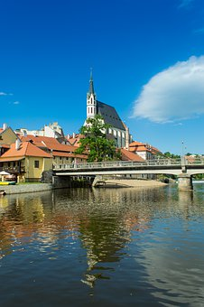 Church, Bridge, Water, River, Architecture, Building