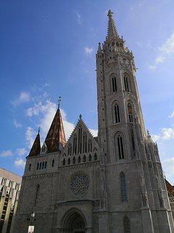 Budapest, Fischerbastei, Holiday, Church, Heaven