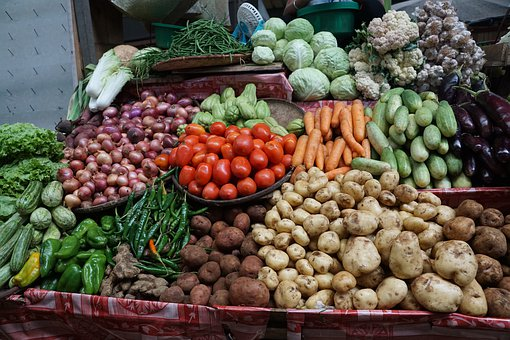 Market, Eat, Healthy, Vegetables, Fresh, Food, Vitamins
