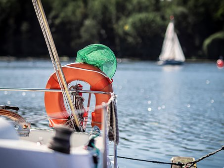 Life Vest, Sailing Boat, Sailing Vessel, Web