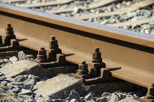 Rails, Sleepers, Train, Steel, Motion, Road, Railway