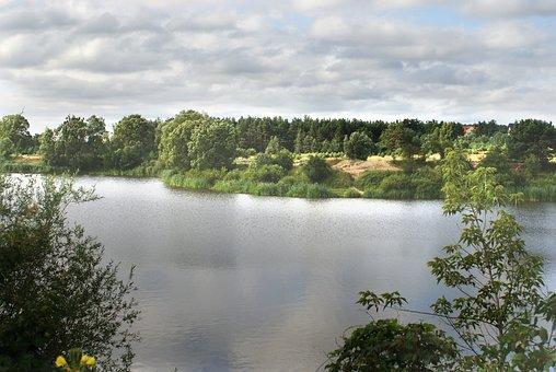 Lake, Nature, Water, Landscape, Beautiful, Sky, Summer