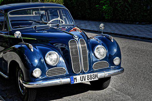 Bmw, Baroque Angel, V8, Oldtimer, Bmw 502, Classic