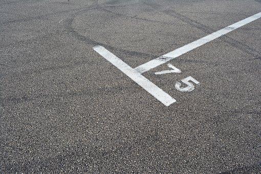 Road Sign, Parking Place, Asphalt, Parking, Street