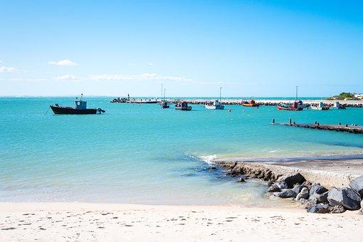Beach, Sea, Water, Ocean, Sand, Sky, Blue, Coast