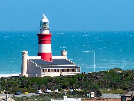 Lighthouse, Sea, Sky, Beacon, Ocean, Coast, Light