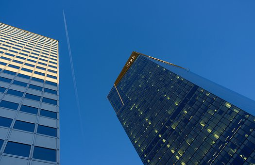 Warsaw, Q22, Office Buildings, Skyscrapers, City, Sky