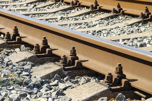 Railway, Rails, Train, Transport, Ways, Steel, The Way