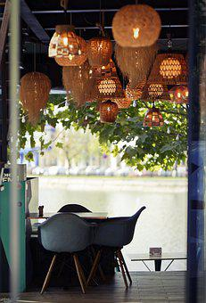 Terrace, Restaurant, Chairs, Bar, Table, Entertainment